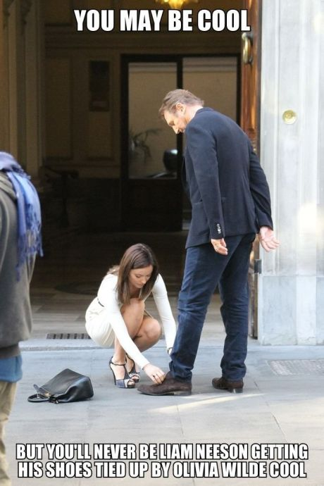 you-may-be-cool-liam-neeson-shoe-tied-olivia-wilde-1383753355I[1]