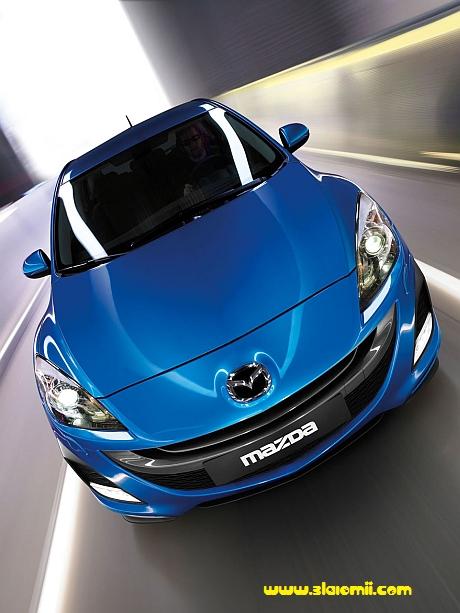 mazda 3 hatchback fund scurt facelift nou noua
